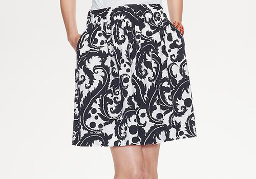Milly for Banana Republic skirt, via shopping's my cardio