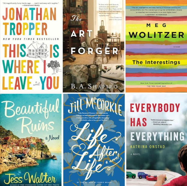 August Must Reads, via shopping's my cardio