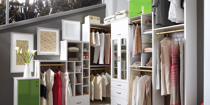 Beautiful closet, clean closet, organize closet, how to clean your closet