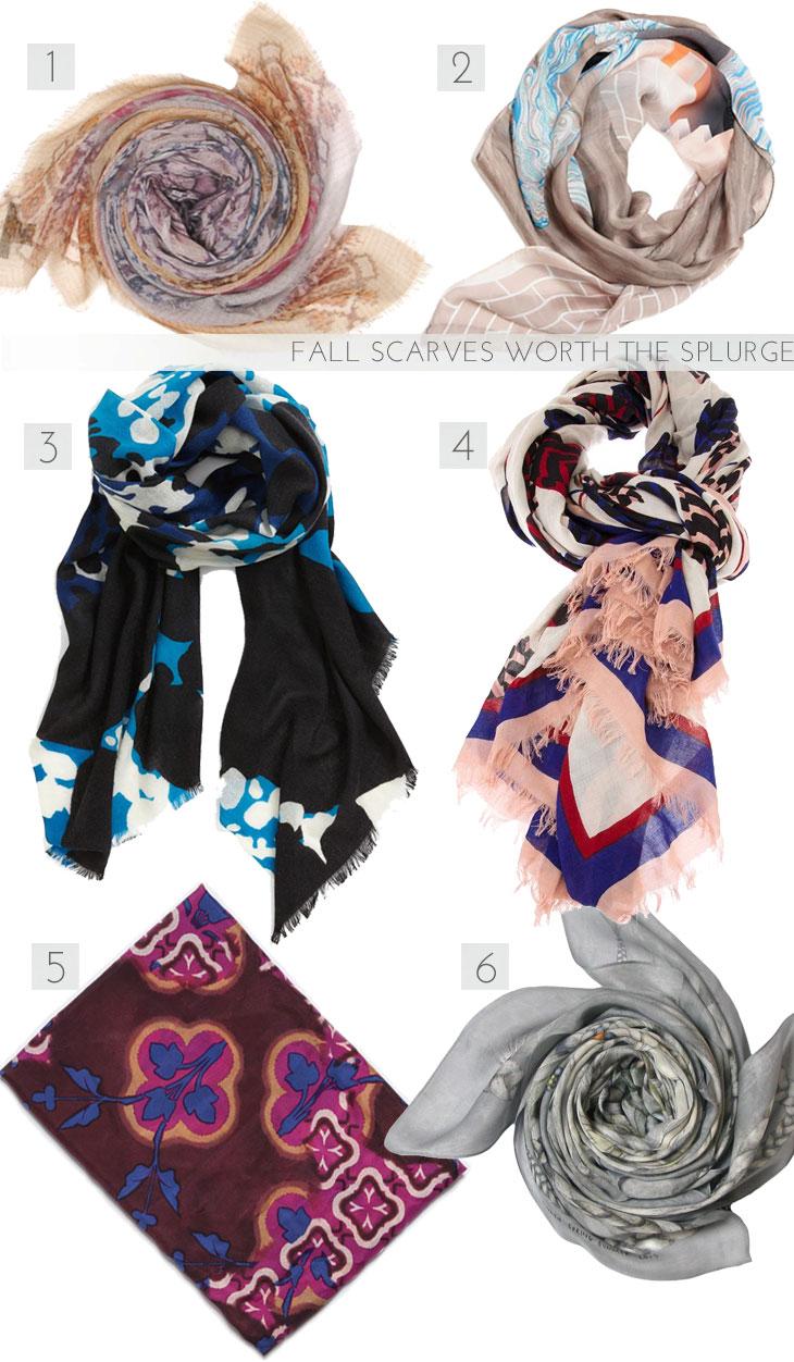 fall scarves, best fall scarves, silk scarves, cashmere scarves, designer scarves, athena procopiou scarves, milleneufcentquatrevingtquatre scarves