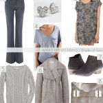 what i'm wearing: shades of grey