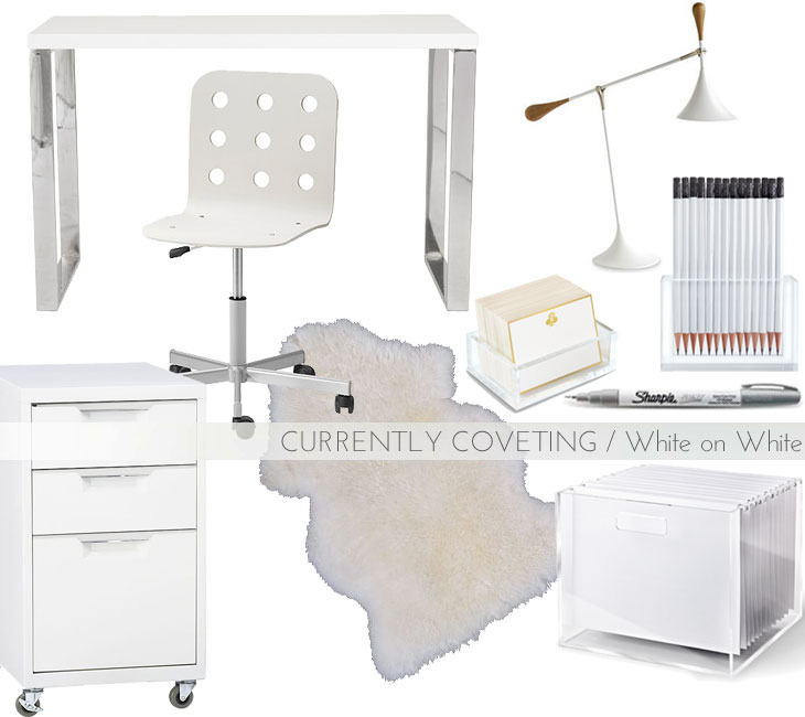 white-office, via shopping's my cardio