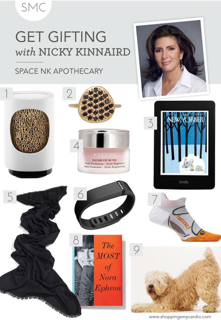 gift guide nicky kinnaird, beauty gift guide, beauty expert gift guide, beauty gifts