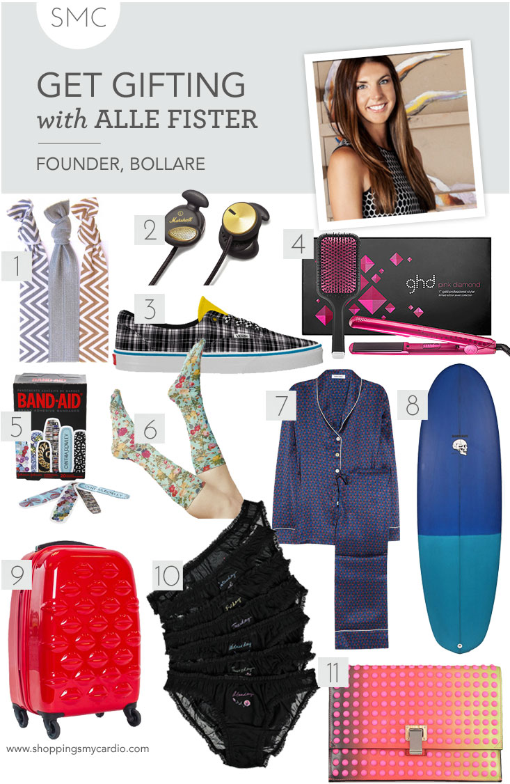 holiday gift guide, style gift guide, cool girl gift guide, surfer gift guide, california gift guide, west coast gift guide, fashion gift guide