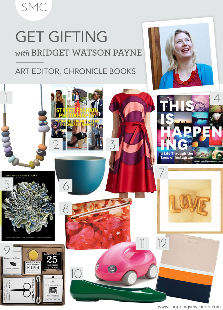 holiday gift guide chronicle books gift guide: bridget watson paynes finds for the art lover
