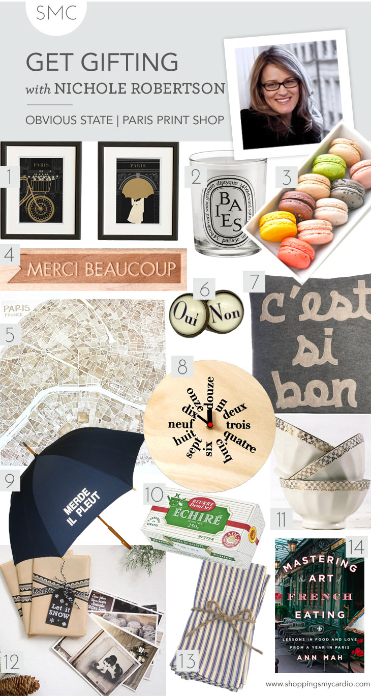 holiday gift guide nichole robertson gift guide: nichole robertsons finds for the francophile
