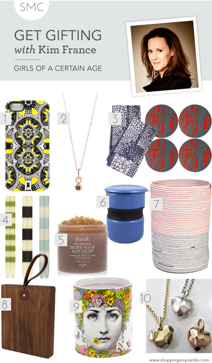 kim france gift guide, gift guide, holiday wish list, fashion gift guide, style gift guide, cool gift guide