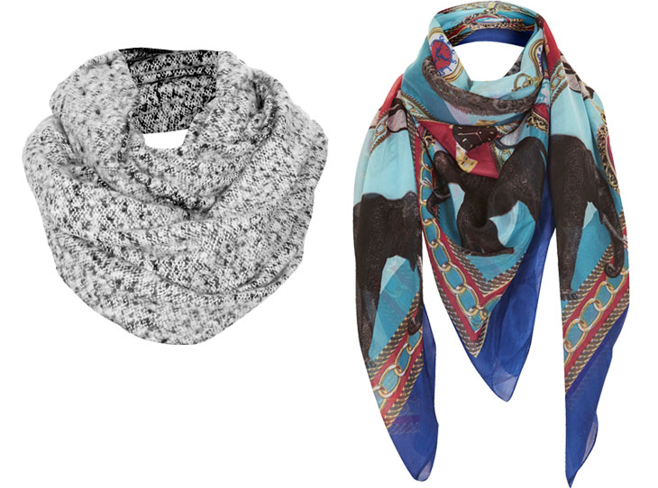 topshop-scarves, via shopping's my cardio