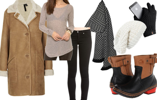 bundled up style, via shopping's my cardio