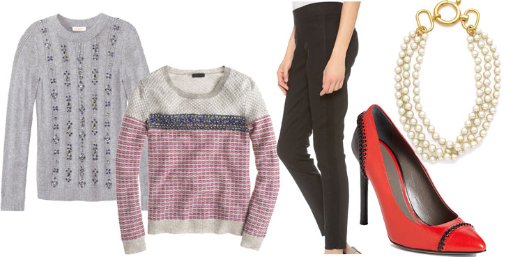 what to wear for the holidays, via shopping's my cardio