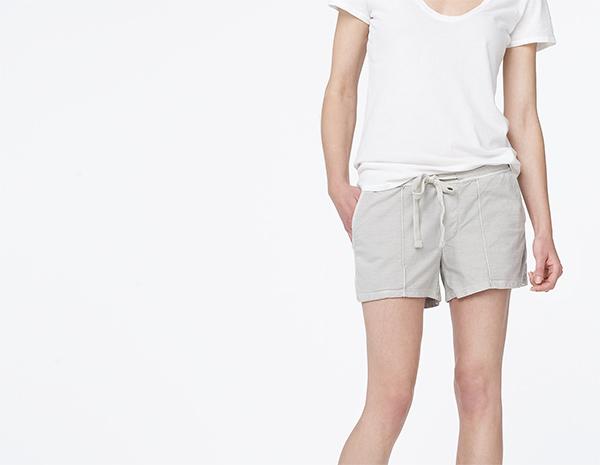 james perse shorts, via shopping's my cardio