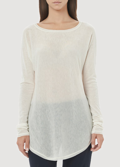 vince cream sweater, via shopping's my cardio