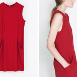 zara red dress 150x150 cheap thrill: red trousers