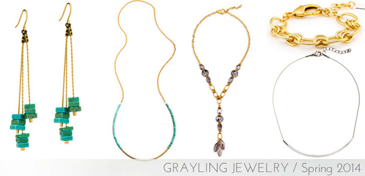 grayling jewelry, grayling jewelry spring, portland jewelry designers, turquoise and gold jewelry, local designers, portland jewelry
