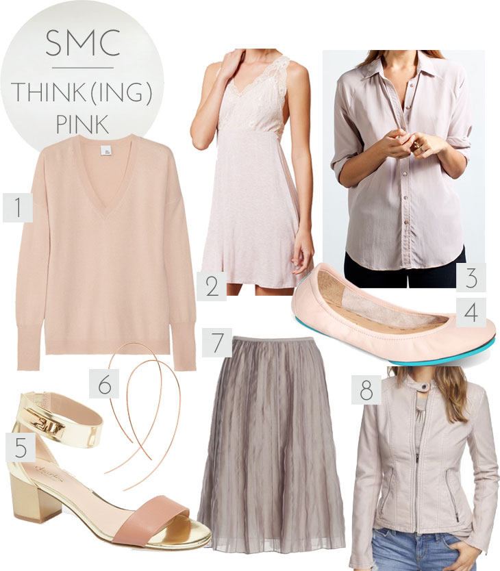 pink spring 2014, pink spring, how to wear pink, styling pink, pink shirt, pink shoes, spring trend pink