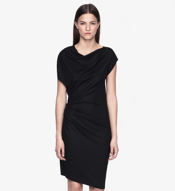 helmut lang sonar wool dress, perfect dress, best black dress, little black dress, best LBD, helmut lang black dress