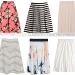 currently coveting: midi skirts for spring