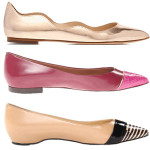 pointed toe flats 150x150 deal of the day:  charlene ruffled t strap heel