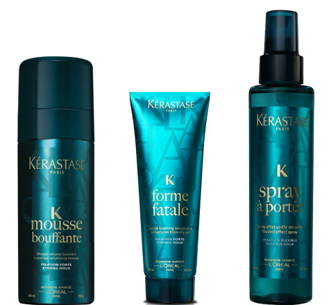 kerastase summer styling beauty buzz: easy summer hair