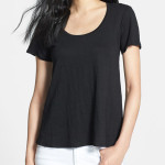 eileen fisher u neck linen tee 150x150 the classics: saint james vs. petit bateau