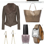 color story: taupe