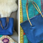 off the rack: custom campos tote (and a discount!)