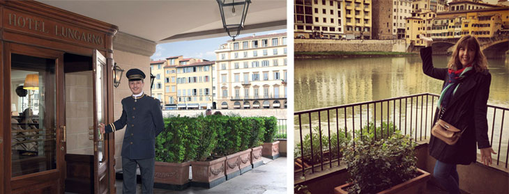 florence where to stay hotel lungarno travel in style: florence