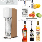 sodastream 150x150 make over my house: the perfect side table