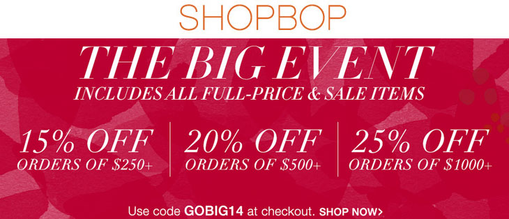 shopbop black friday black friday sales: the nuttiness begins