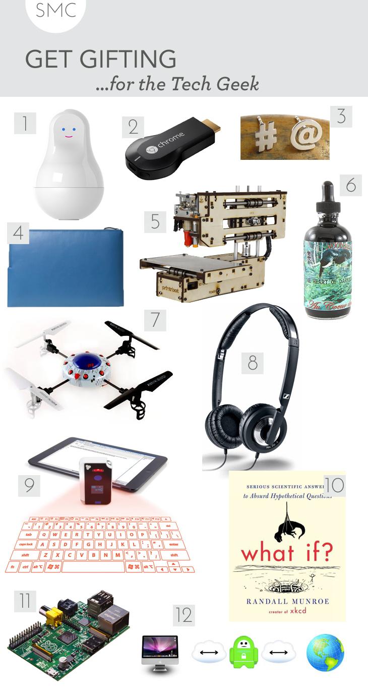 gadget gift guide, tech gift guide, computer gift guide, nerd gift guide