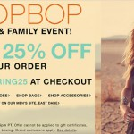 spring splurge: shopbop friends & family!