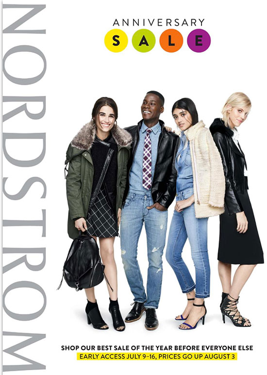 sneak peek!! see the 2015 nordstrom anniversary sale catalog a day ...