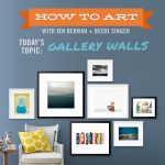 how to art: updating a gallery wall